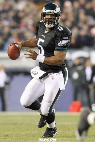 Donovan McNabb iPhone Wallpaper