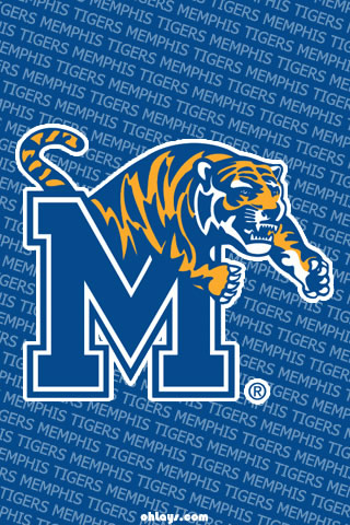 Memphis Tiger iPhone Wallpaper