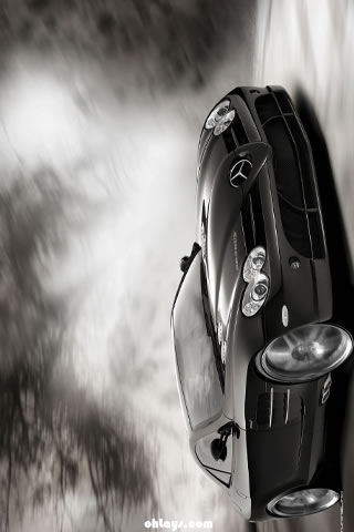 Mercedes SLR iPhone Wallpaper