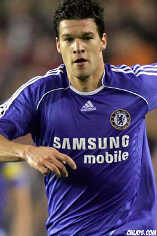Michael Ballack iPhone Wallpaper