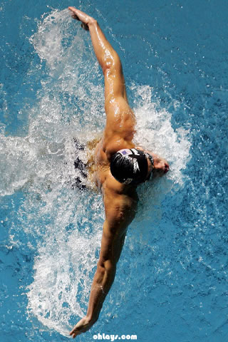 Michael Phelps iPhone Wallpaper