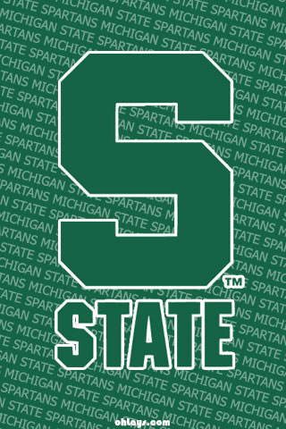 Michigan State Spartans iPhone Wallpaper
