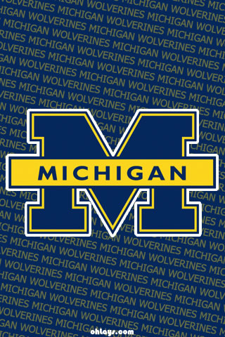 Michigan Wolverines iPhone Wallpaper