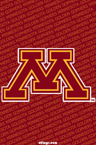 Minnesota Golden Gophers iPhone Wallpaper