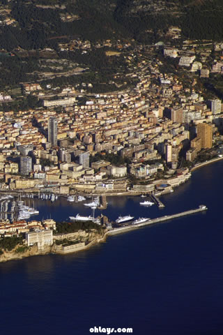 Monaco iPhone Wallpaper