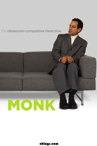 Monk iPhone Wallpaper