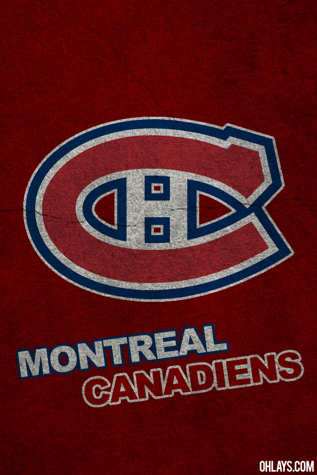 Montreal Canadiens iPhone Wallpaper