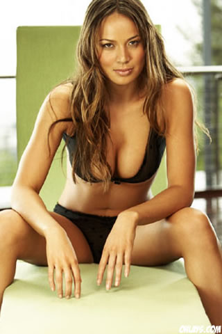 Moon Bloodgood iPhone Wallpaper