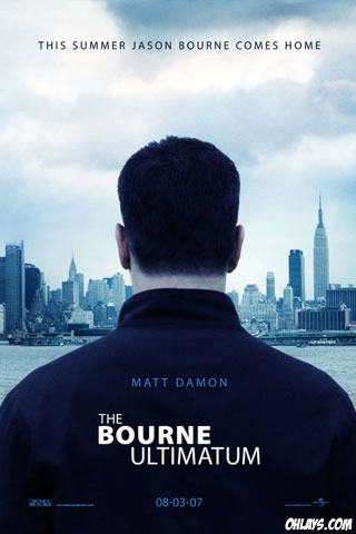 Bourne Ultimatum iPhone Wallpaper