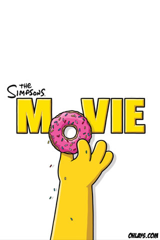 Simpsons iPhone Wallpaper