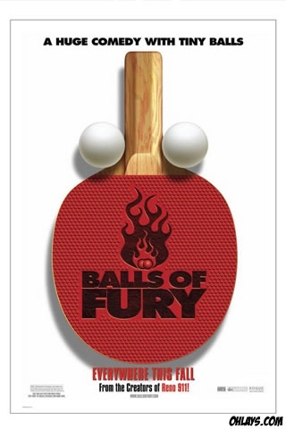 Balls of Fury iPhone Wallpaper