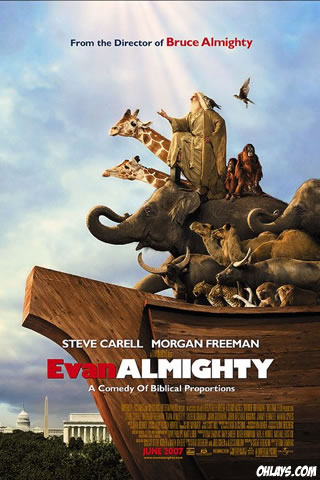 Evan Almighty iPhone Wallpaper