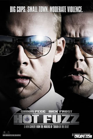 Hot Fuzz iPhone Wallpaper