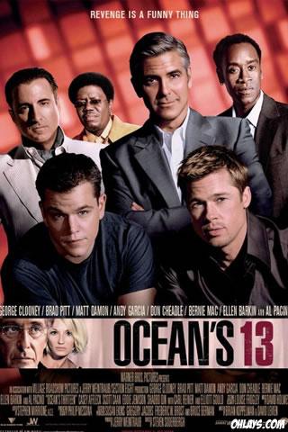 Oceans 13 iPhone Wallpaper