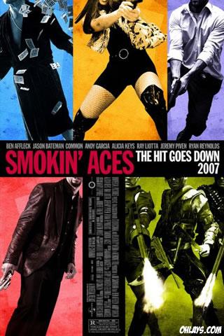 Smokin Aces iPhone Wallpaper