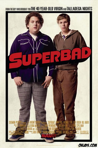 Superbad iPhone Wallpaper