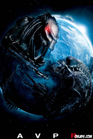 Alien vs Predator iPhone Wallpaper