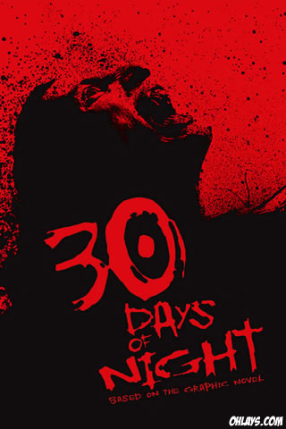 30 Days of Night iPhone Wallpaper
