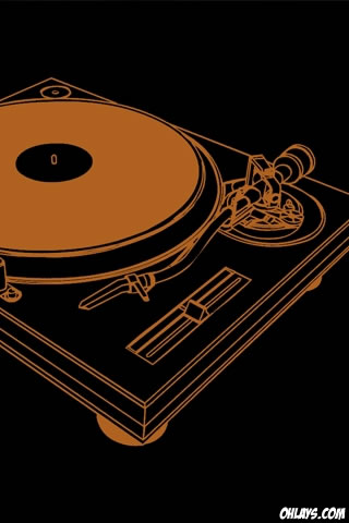 Turntable iPhone Wallpaper