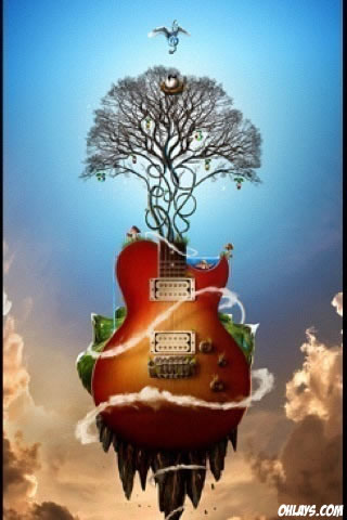Guitar iPhone Wallpaper