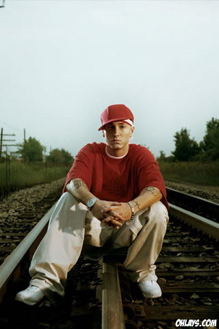 Eminem iPhone Wallpaper