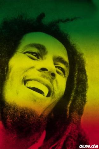 Bob Marley iPhone Wallpaper