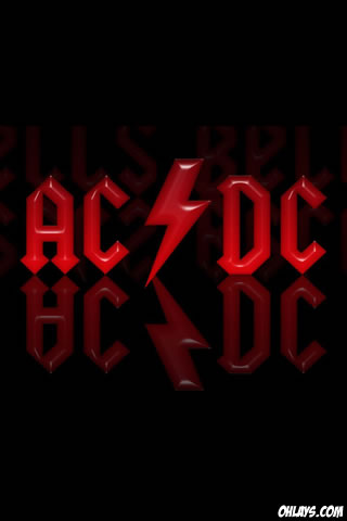 ACDC iPhone Wallpaper