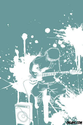 wallpaper music guitar. Guitar iPhone Wallpaper