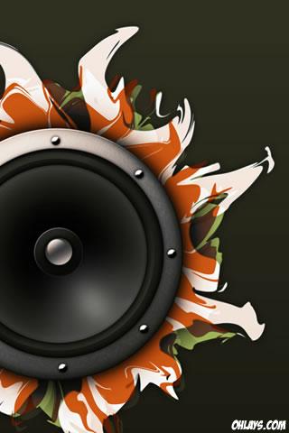 Speaker iPhone Wallpaper