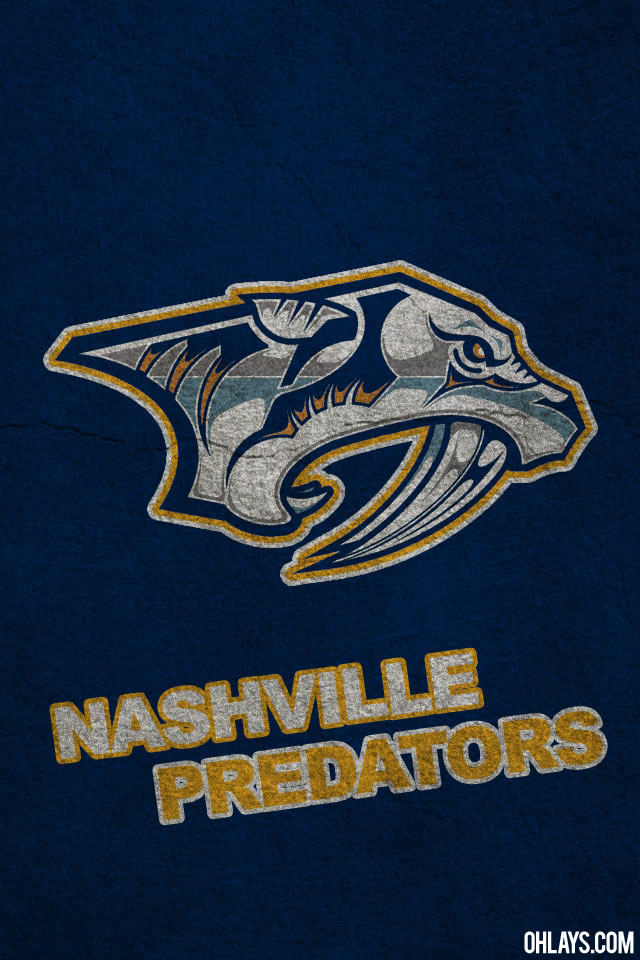 Nashville Predators iPhone Wallpaper