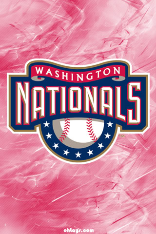 Washington Nationals iPhone Wallpaper