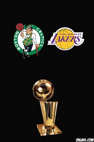 2010 NBA Finals iPhone Wallpaper