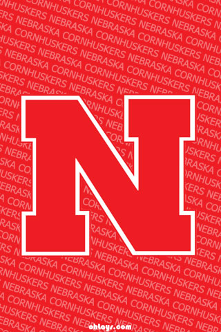 Nebraska Cornhuskers iPhone Wallpaper