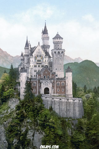 Neuschwanstein Castle iPhone Wallpaper