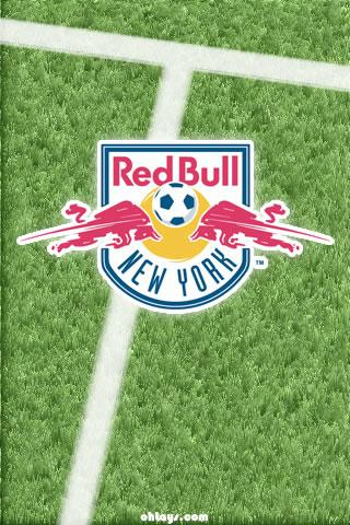 New York Red Bulls iPhone Wallpaper