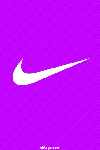 Purple Nike iPhone Wallpaper