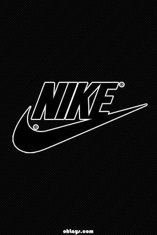 Black Nike IPhone Wallpaper