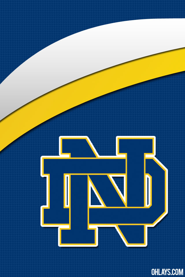 Notre Dame Fighting Irish iPhone Wallpaper