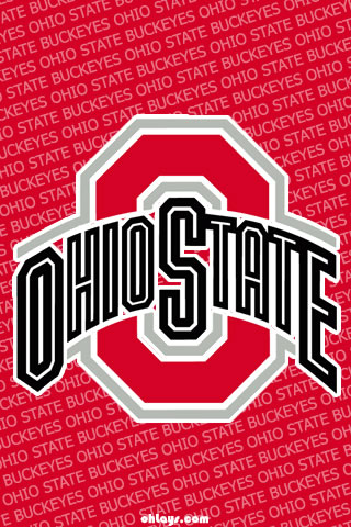Ohio State Buckeyes iPhone Wallpaper