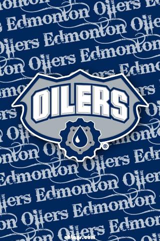 Edmonton Oilers iPhone Wallpaper