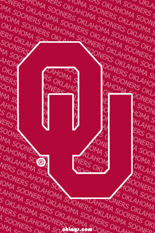 Oklahoma Sooners iPhone Wallpaper