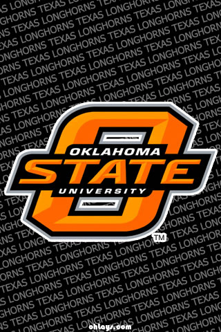 Oklahoma State Cowboys iPhone Wallpaper