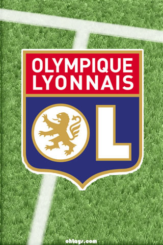 Olympique Lyon iPhone Wallpaper