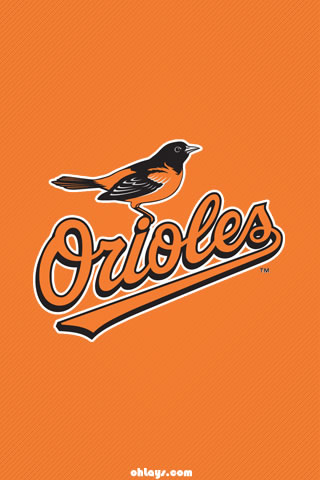 Baltimore Orioles iPhone Wallpaper