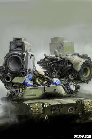 Tank iPhone Wallpaper