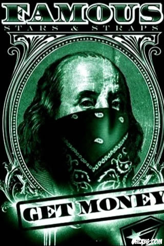 Get Money iPhone Wallpaper