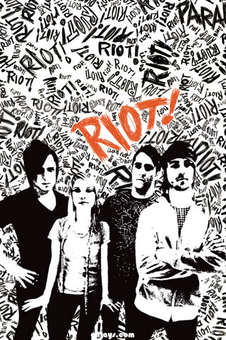 Paramore iPhone Wallpaper