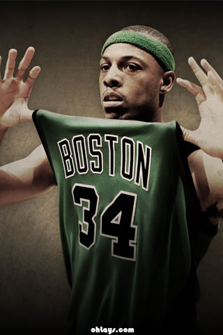 PAUL PIERCE iPhone Wallpaper | #455 | ohLays