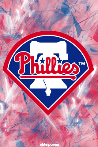 Philadelphia Phillies iPhone Wallpaper