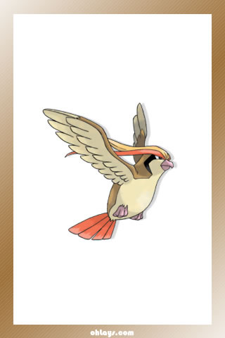 Pidgeot iPhone Wallpaper